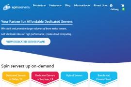 便宜美国(spinservers)高配服务器推荐,配置-2*e5-2630Lv2/64g内存/ ssd大硬盘10G大带宽月$89